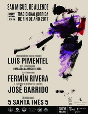 Tradicional Corrida de Fin de Año en San Miguel de Allende