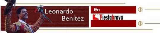 Matador Leonardo Benítez