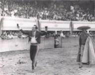 """Las Dos Orejas, con su inseparable subalterno, el legendario David Siqueiros """"Tabaquito"""""""
