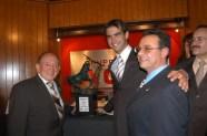 Enrique Hernández Flores, Arturo Macías, Salvador Silhy y Pepe Soto