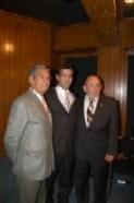 Alfredo Flórez, Arturo Macías y Enrique Hernández Flores