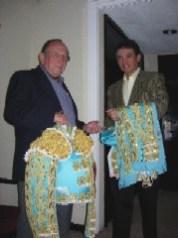 El Maestro Jorge Gutiérrez y Enrique Hernández Flores