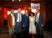 Alfredo Flórez, Henry Stone, Enrique Hernández Flores, Ganadera Aída Macías y Enrique Hernández Vázquez