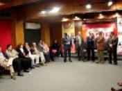 """Los integrantes del Programa """"Fiesta Brava"""" durante la celebración del XVI Aniversario"""