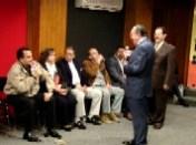 Mario Moreno, Carmina de Zamudio, Carlos Zamudio, José López Carmona, Enrique Hernández Flores y Pepe Soto