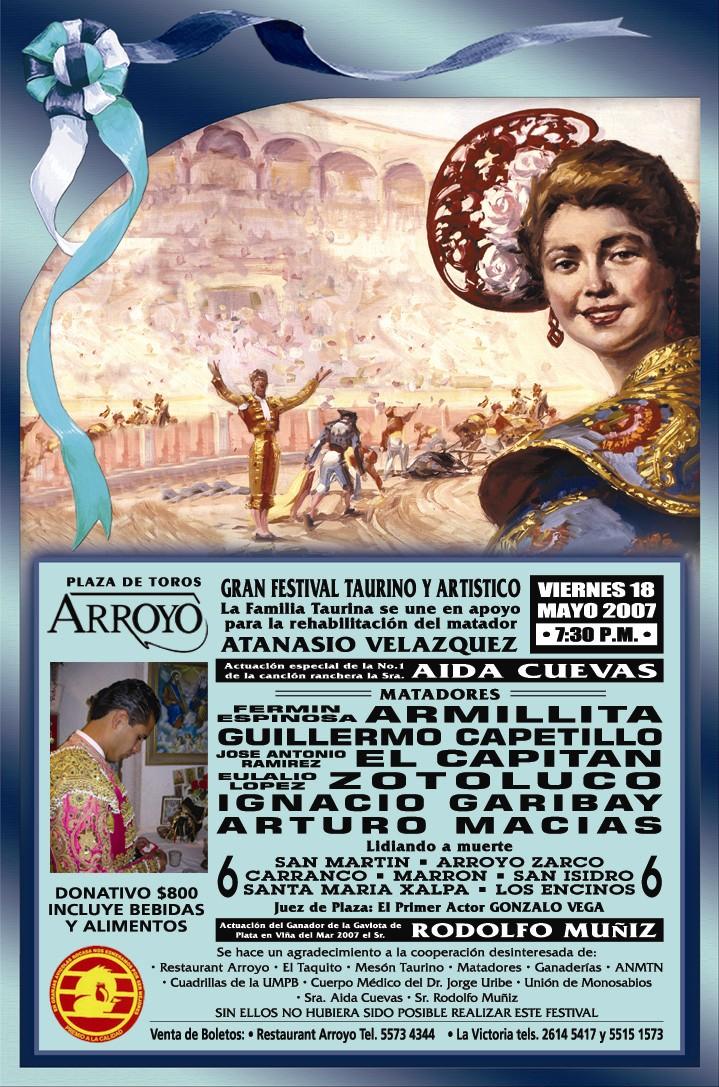"Festival Benéfico ""Atanasio Velázquez"""