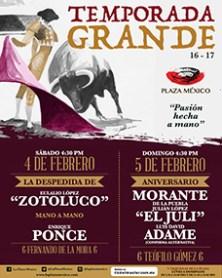 """71º Aniversario de la Monumental Plaza de Toros """"México"""""""