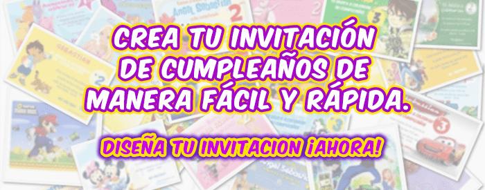 invitaciones de cumpleaños gratis las mas lindas 2018