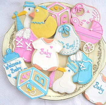 galleta baby shower