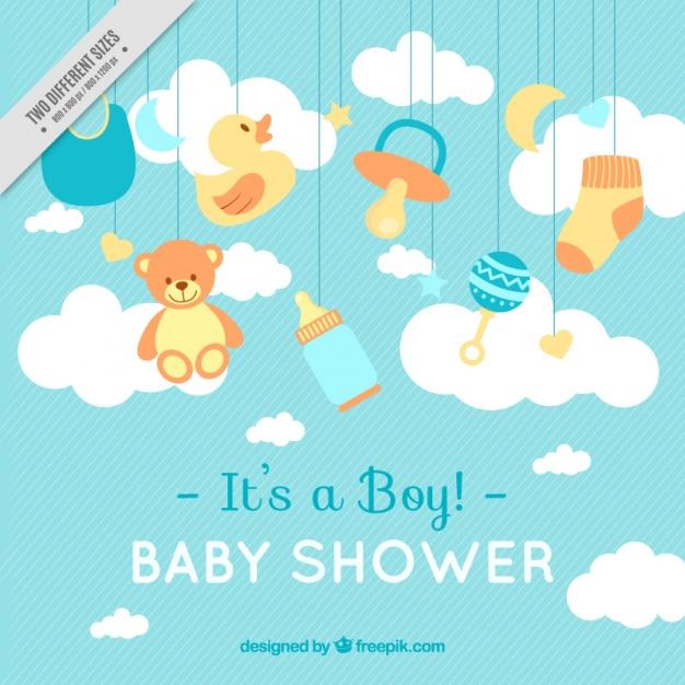 60fe07eb0 ▷ 20 Invitaciones para Baby Shower  edita e Imprime GRATIS  2018