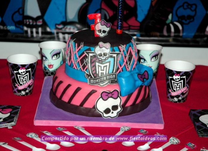 ideas de tortas de Monster High