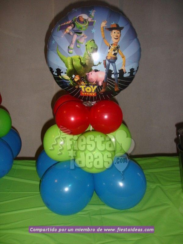 Decoración De Fiesta De Toy Story Con 40 Ideas Originales