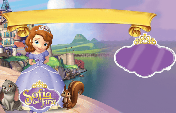 imagen para invitación princesa sofia