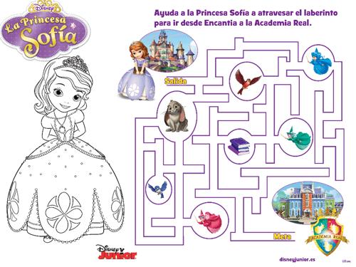 Princesa Sofía Kit Imprimible gratis_juegos