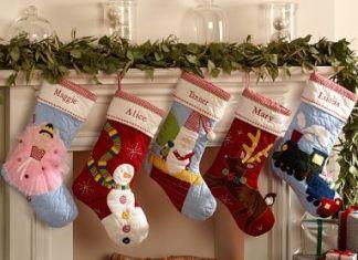 decoracion bota navideña