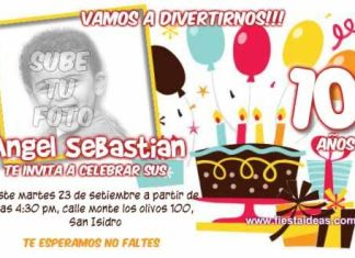 invitacion_de_cumpleaños con foto 2