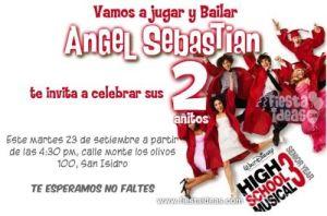 invitacion_High school_musical