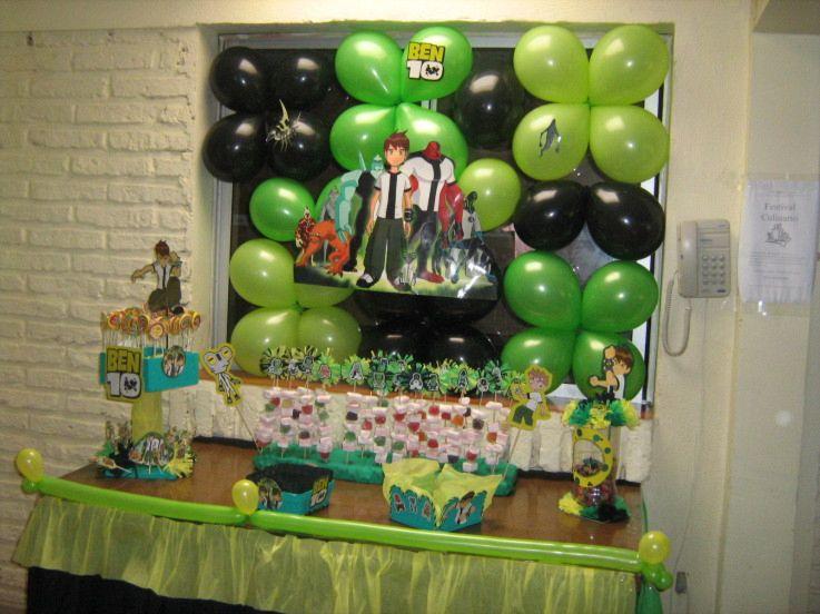 ben 10 ideas de decoracion de fiesta de cumplea os