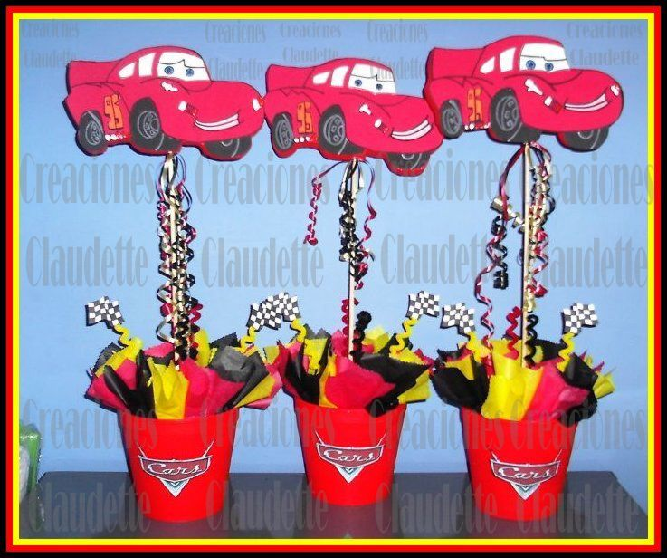 Ideas de decoraci n fiesta cars rayo mcqueen for Todo sobre decoracion