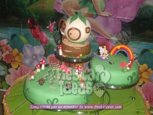 20 ideas para decoracion de tortas de Campanita - tinkerbell-002_min