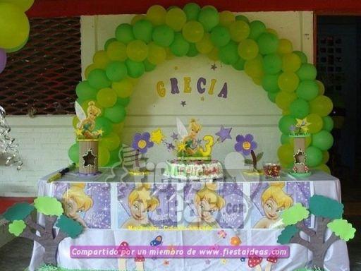 20 ideas para decoracion de tortas de Campanita - tinkerbell-006_min