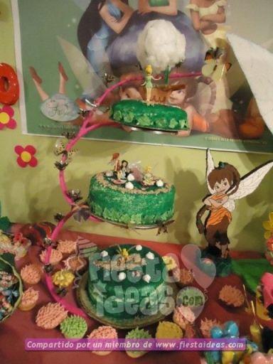 20 ideas para decoracion de tortas de Campanita - tinkerbell-009_min
