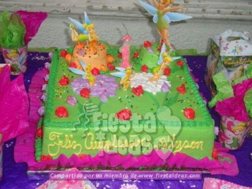20 ideas para decoracion de tortas de Campanita - tinkerbell-011_min