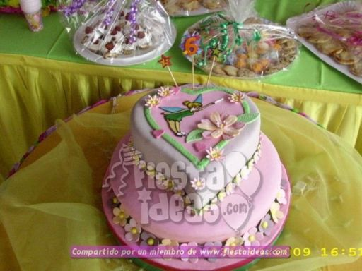 20 ideas para decoracion de tortas de Campanita - tinkerbell-012_min