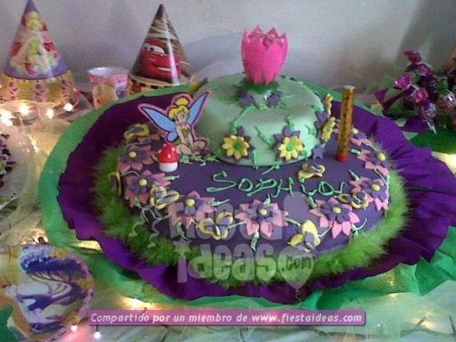 20 ideas para decoracion de tortas de Campanita - tinkerbell-014_min