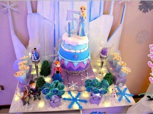 ideas para una original fiesta con Frozen la princesa disney
