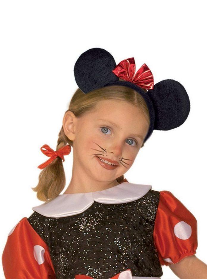 Disfraces deMinnie Mouse con maquillaje