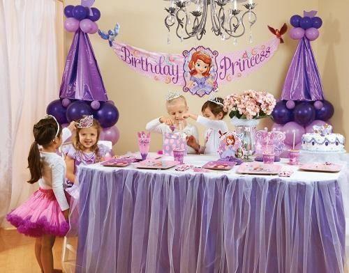 Primer cumplea os de princesa sofia con art culos de fiesta for Articulos decoracion originales