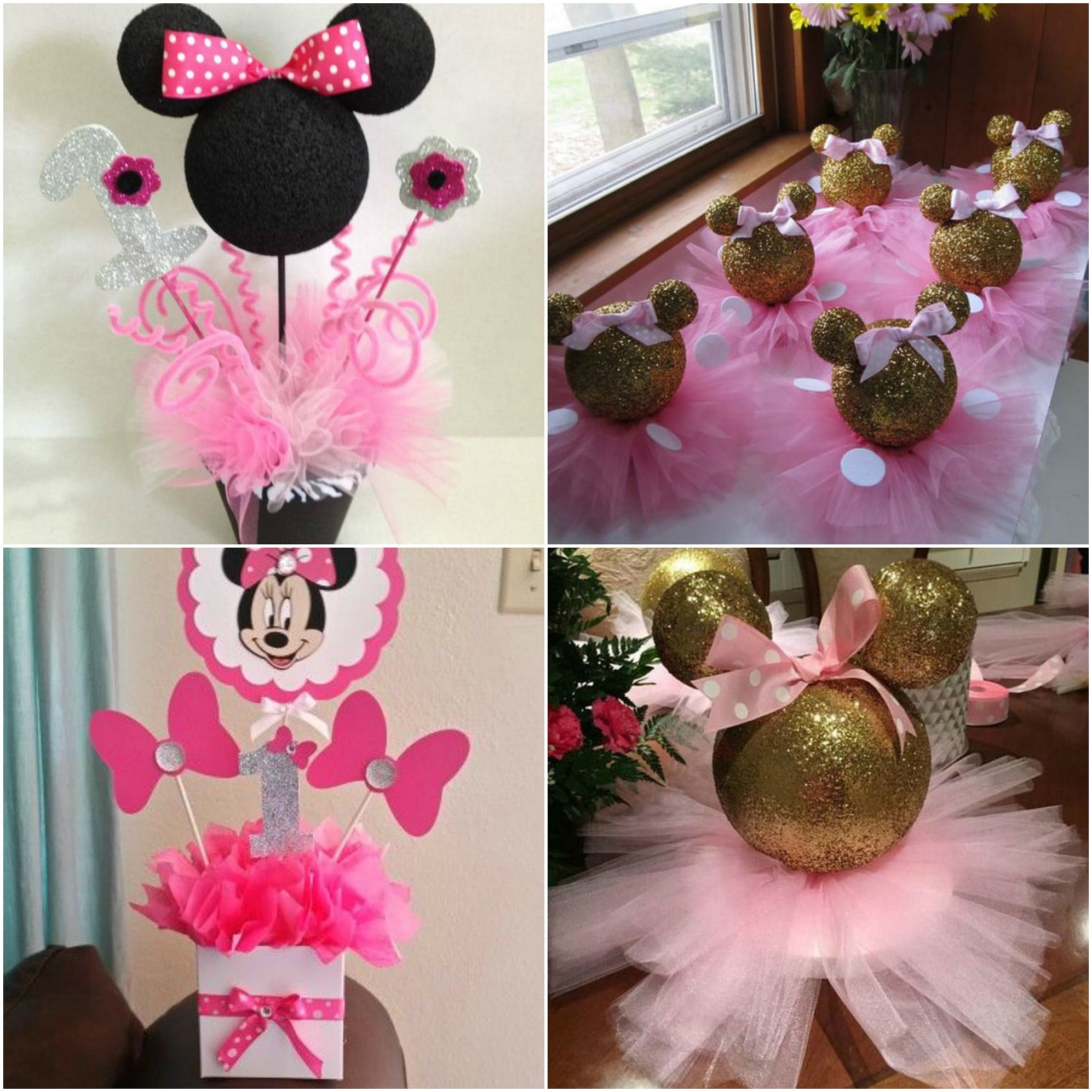 Fiesta de minnie mouse ideas de decoraci n originales 2018 for Ideas faciles decoracion