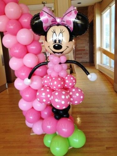 Decoracion Minnie Fucsia ~   de Minnie mouse con ideas de decoraci?n originales ? Minnie Mouse