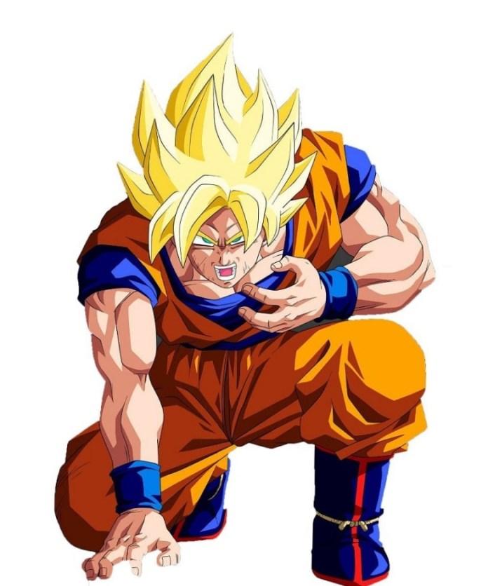 imagen de Dragon ball z goku super saiyan