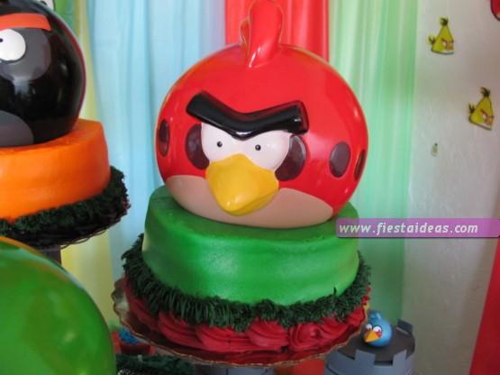 Fiesta angry birds con originales detalles te sorprenderás