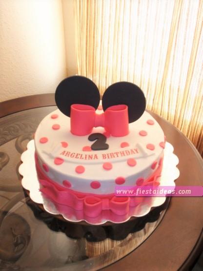 15 Decoraciones de minnie mouse torta