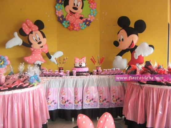 Fiesta De Minnie Mouse Ideas De Decoracion Originales 2018