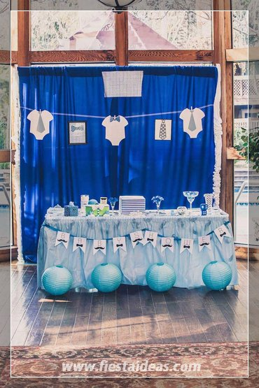 Baby Shower Temas Niño ~ Baby shower para ni�o con hermosas decoraciones