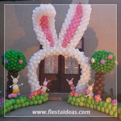 Originales decoraciones con globos fotos y videos paso a - Como hacer decoracion con globos ...
