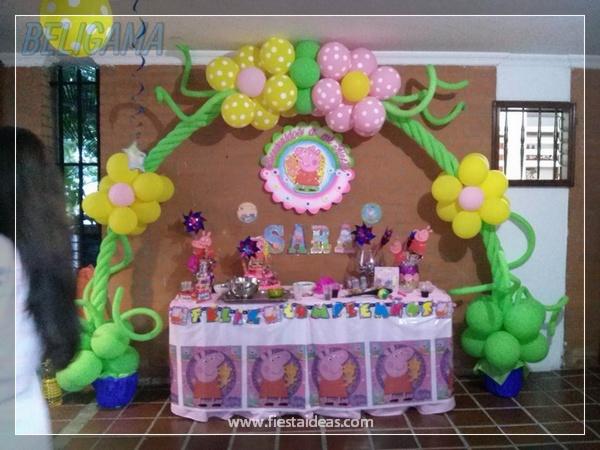 Peppa Pig Original fiesta de cumpleaños infantil para compartir
