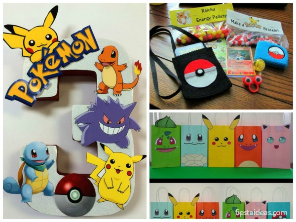 Fiesta Pokemon Go Con IDEAS ESPECTACULARES PASO A