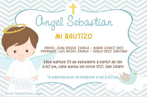 Plantillas Para Invitaciones De Bautizo Togo Wpart Co