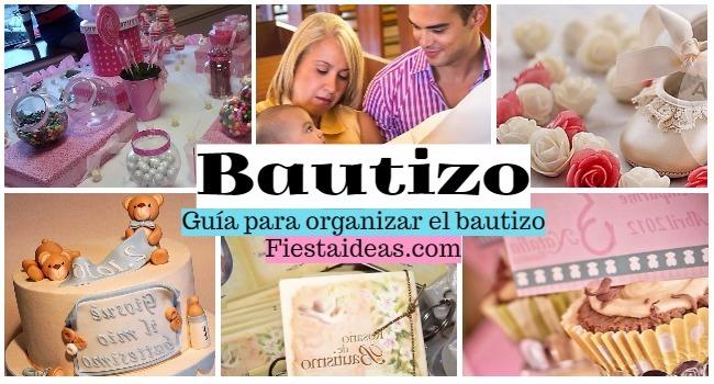 el Bautizo guia para organizar
