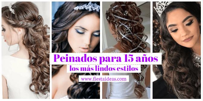 Peinados para 15 años orignales