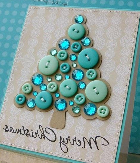 para darte ideas de cmo hacer tarjetas de navidad con diferentes diseos materiales y texturas en combinacin con un bonito mensaje para hacerlo especial - Como Hacer Una Postal De Navidad