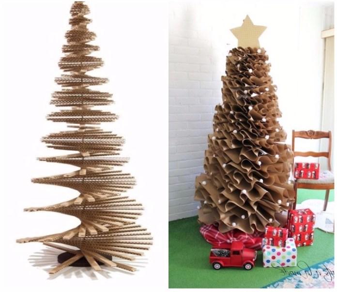 Arbol de navidad decorado: Originales tendencias (2018)