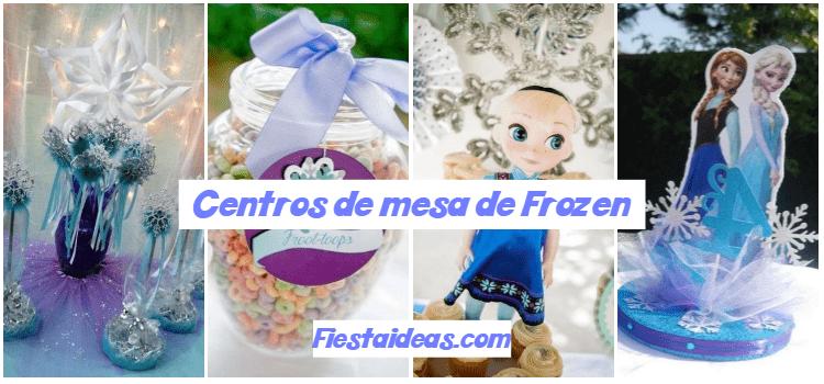 30 Centros De Mesa De Frozen Originales Ideas Que Te