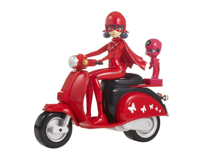 moto de juguete de Ladybug para regalar