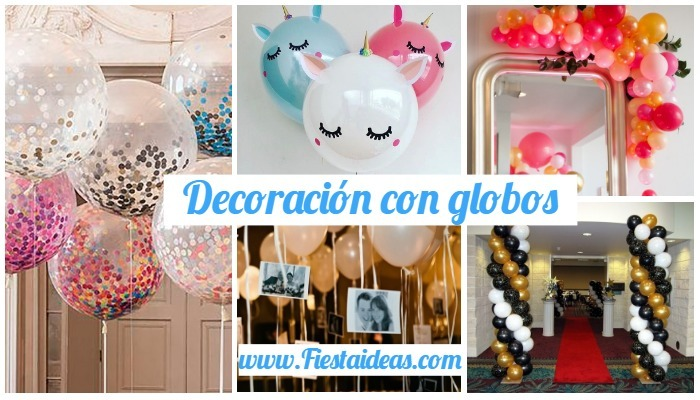 Decoración Con Globos Fantásticas Ideas Para Fiestas2019